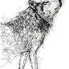 Frayed Wolf by Leliza