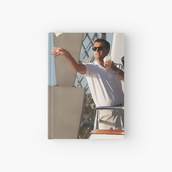 Wolf Of Wall Street Hardcover Journal