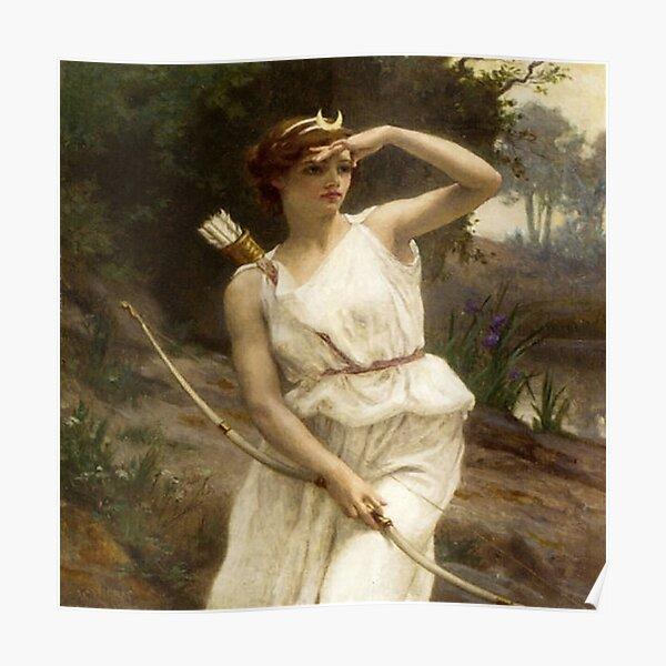 Diana Hunting- Guillarme Seignac Poster
