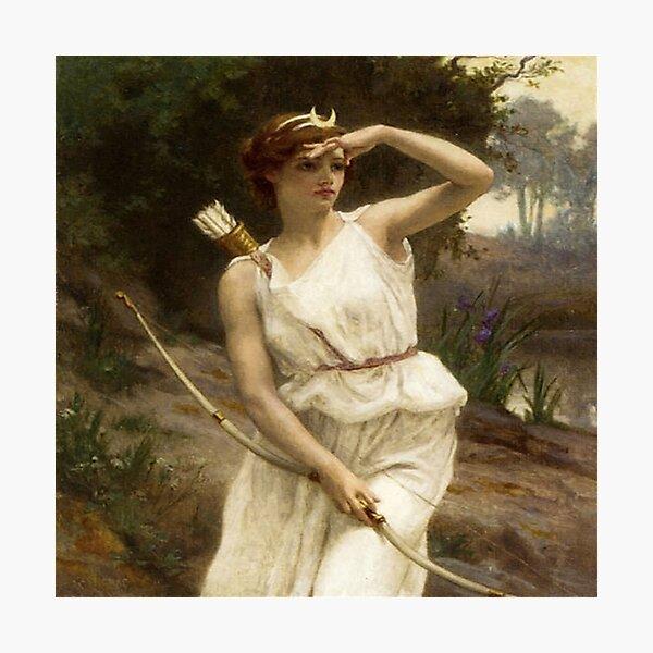 """Diana Hunting""- Guillarme Seignac Photographic Print"