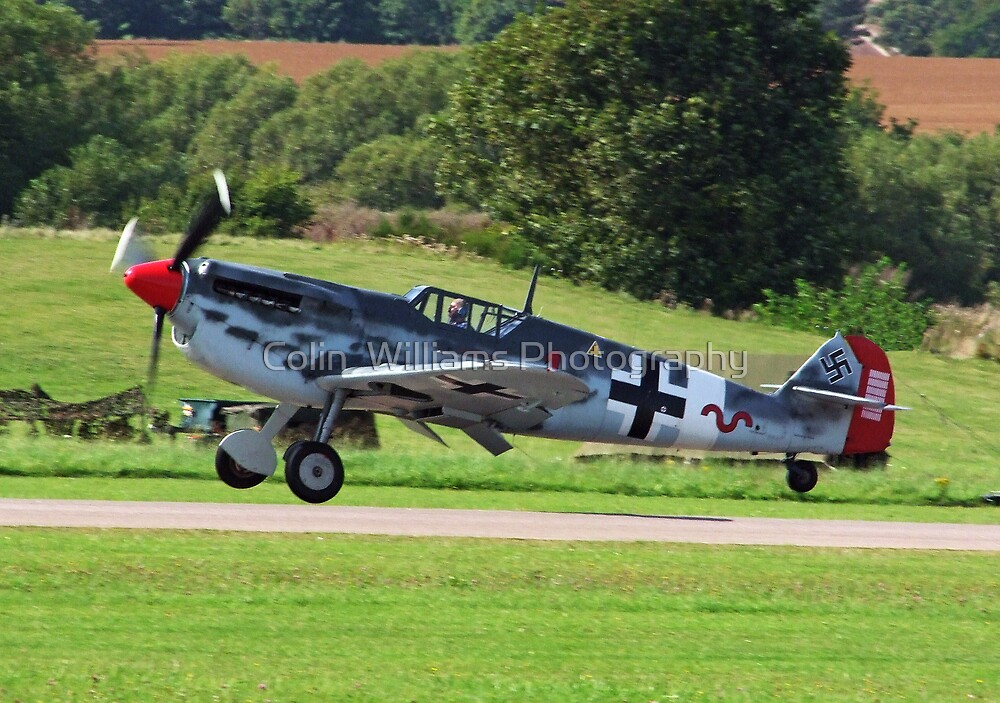 ME 109 Wheels Away by Colin  Williams Photography