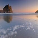 Wharariki Beach 2 by Paul Mercer