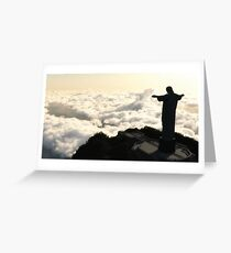 Corcovado mountain Greeting Card