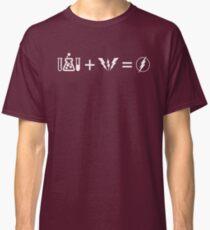 Blitzformelgleichung Sheldon Classic T-Shirt