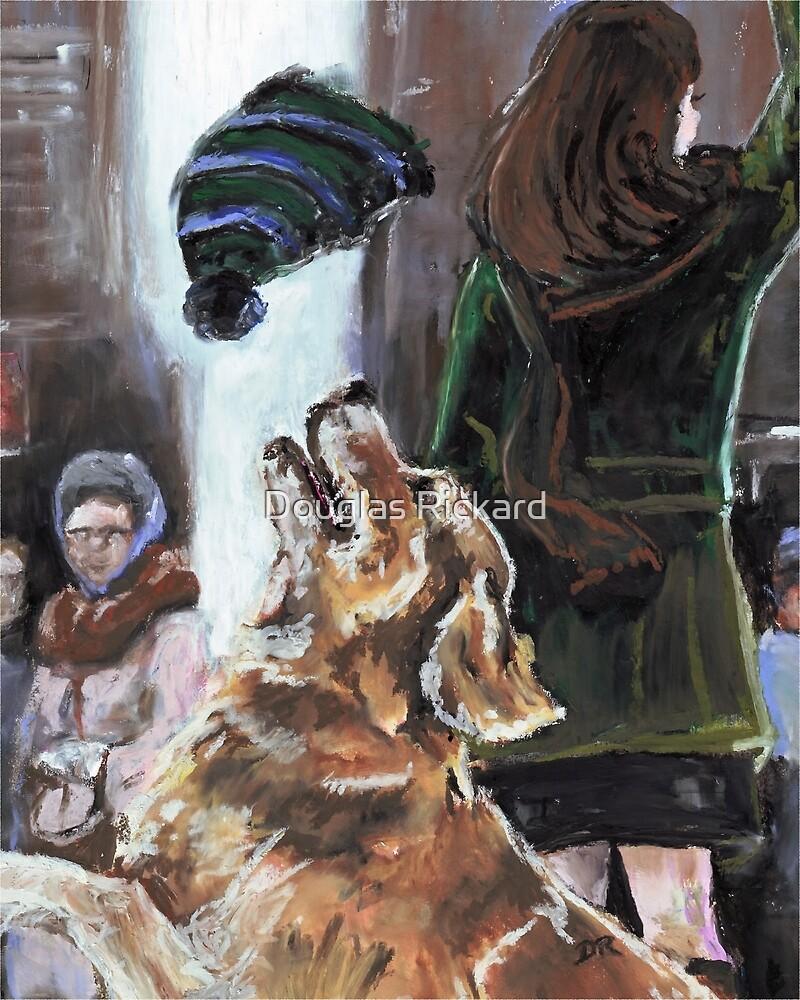 The Mary Tyler Moore Golden Retriever by Douglas Rickard