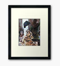 The Mary Tyler Moore Golden Retriever Framed Print