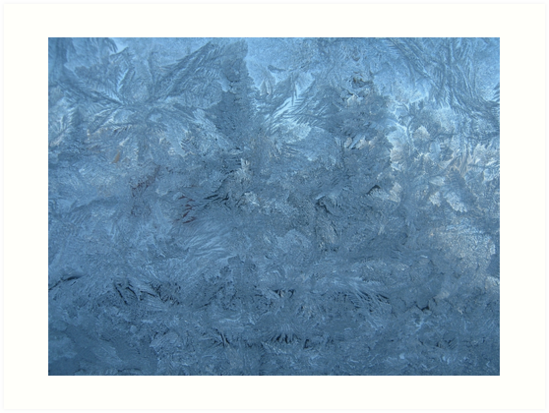 Ice on window by PVagberg