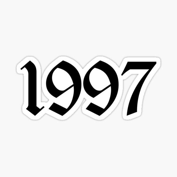 1997 Sticker