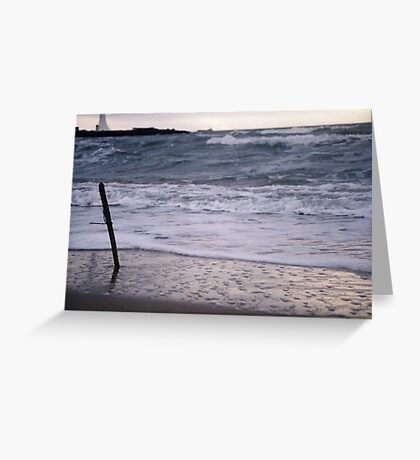 Spell By The Sea Greeting Card