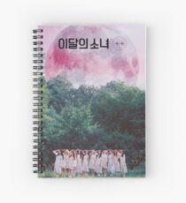 finally introducing: loona / 이달의 Spiral Notebook