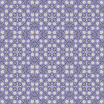 Lilac flower pattern by fuzzyfox