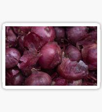 red onions  Sticker