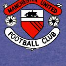 Manchester United Vintage Crest by bigredfro