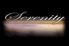 Serenity II on black by Ray Warren