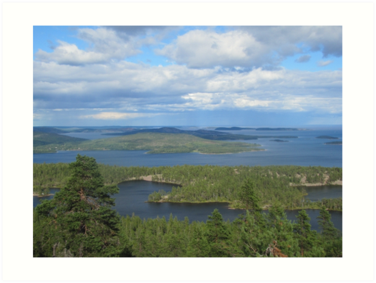 Islands of north sweden by PVagberg