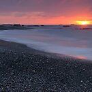Sunrise at Ward Beach by Paul Mercer