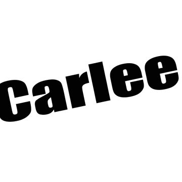 Carlee - Carlee's Mug, Tshirt, Card, Notebook - Unique Name Designs by WaffleOnDesigns