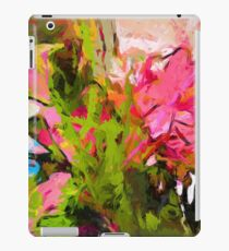 Flower Ecstasy Pink Tropical Green iPad Case/Skin