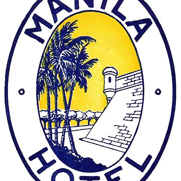 1925 Manila Hotel by historicimage