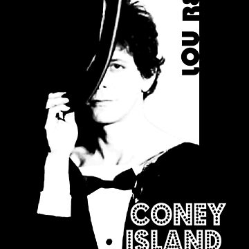Lou Reed - Coney Island Baby Shirt by RatRock