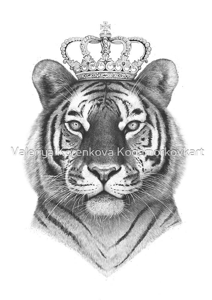 The Tiger King by Valeriya Korenkova Kodamorkovkart