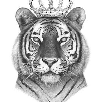 The Tiger King by kodamorkovkart