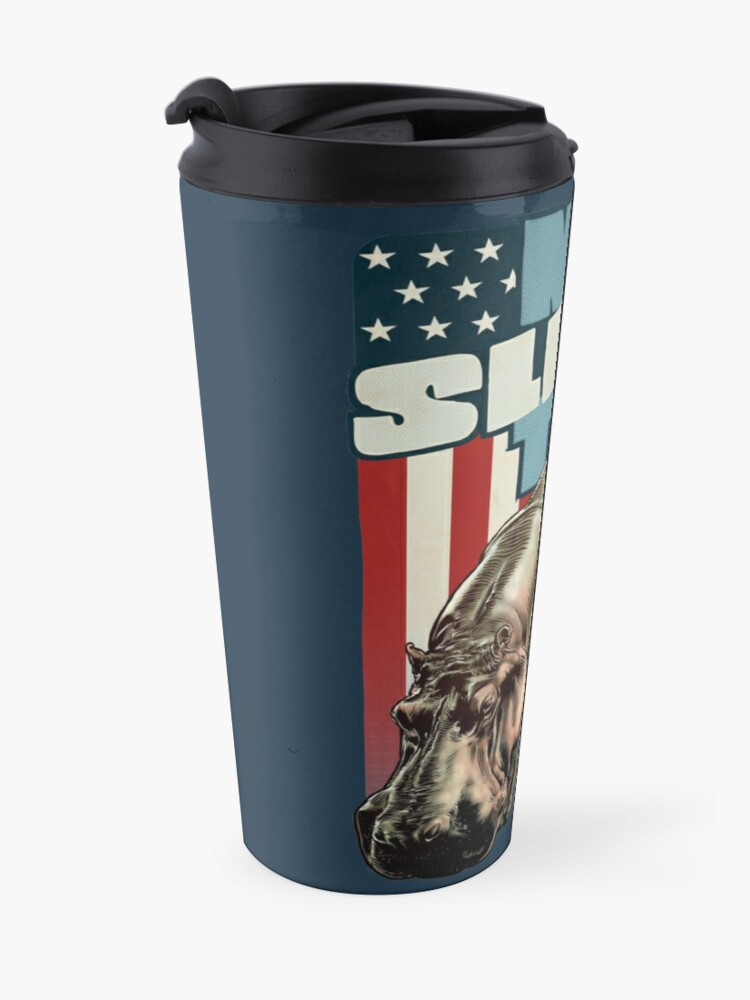 Alternate view of The Dollop - No Sleep Til Hippo (Clothing and Stickers) Travel Mug