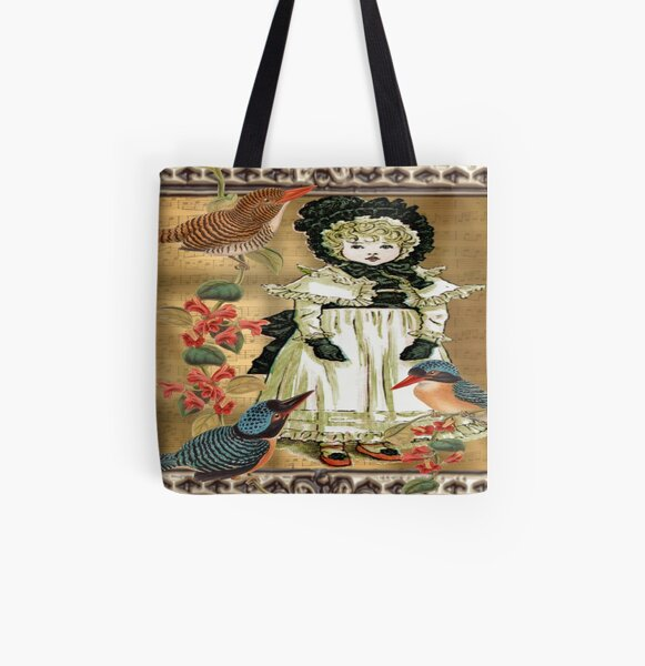 When We Were Birds All Over Print Tote Bag