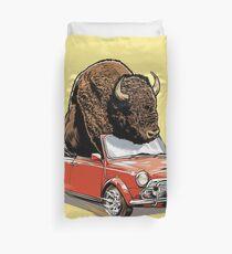 Bison in einem Mini 2015 Bettbezug