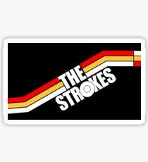 The Strokes Logo Striped Julian Casablancas Sticker