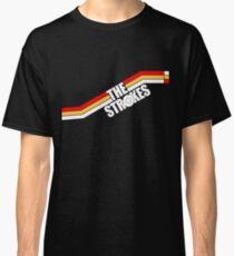 The Strokes Logo Striped Julian Casablancas Classic T-Shirt