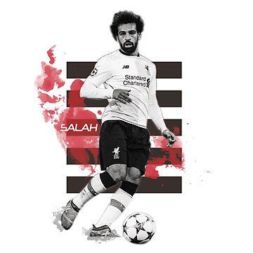 Mo Salah by RedAngelDesigns