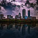 Charles river,Boston by LudaNayvelt