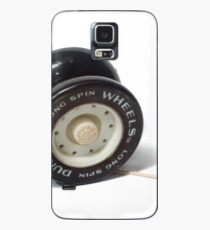 A black and white yoyo on white background  Case/Skin for Samsung Galaxy