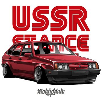 USSR Stance 2109 (red) by MotorPrints