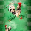 Rooster by Kurt  Tutschek
