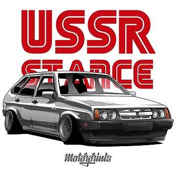 USSR Stance 2109 (white) by MotorPrints