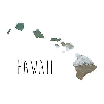 Hawaiian Islands by daburrows
