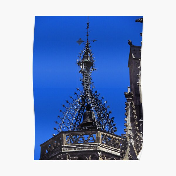 Bell Tower, Barcelona Cathedral Poster