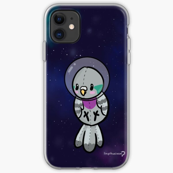 Space Baby - Pidgeon Phone Case iPhone Soft Case