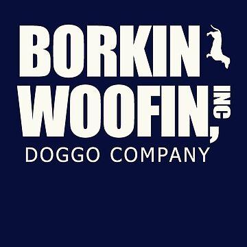 Borking Woofin - Dunder Mifflin White by grellom