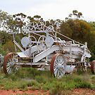 Old farm machinery, Outback Australia by FranWest
