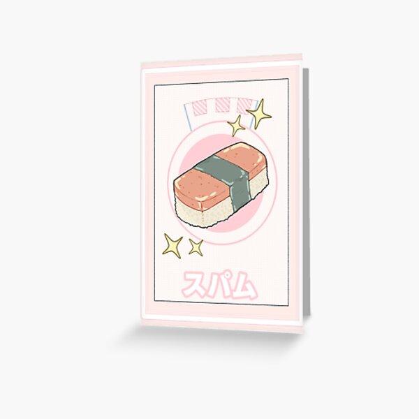 Spamu  Greeting Card