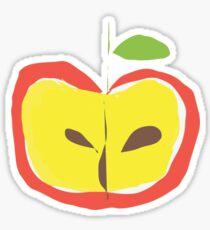 An Apple A Day Sticker