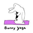 Bunny Yoga by Alexis St. John