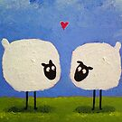 'I love ewe' by Martin Williamson (©cobbybrook)