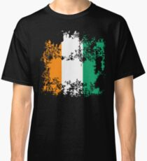 Cote d'Ivoire Elfenbeinküste flag graphic really cool design Classic T-Shirt