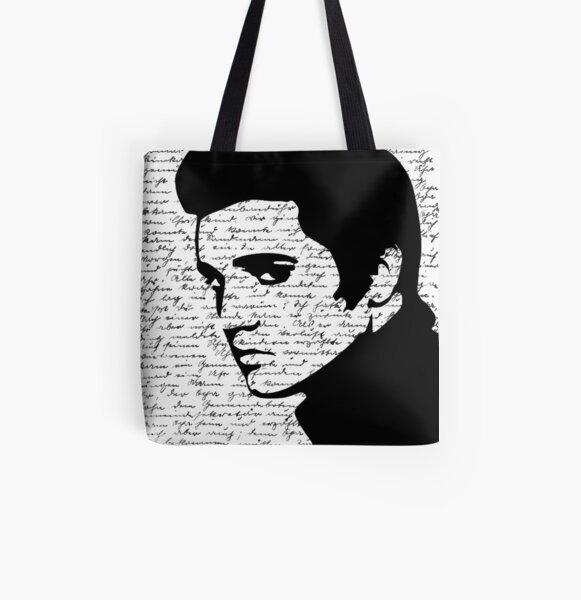 Elvis All Over Print Tote Bag