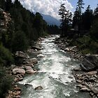 "River ""BEAS"" at Manali, by Vivek Bakshi"