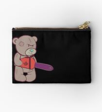 Teddy with chainsaw Studio Pouch